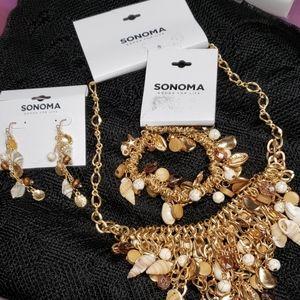 Sonoma jewelry set- NWTs